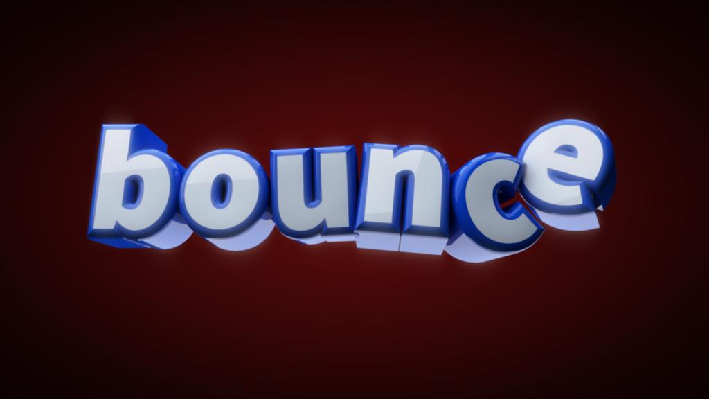 Bouncing Text